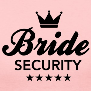 Bachelorette Party - Bride Security Long Sleeve Shirts - Women's Long Sleeve Jersey T-Shirt