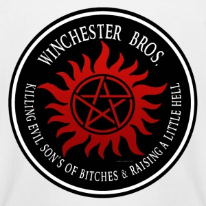 Winchester Bros protection Symbal Ring Patch 03 T-Shirts - Men's Tall T-Shirt