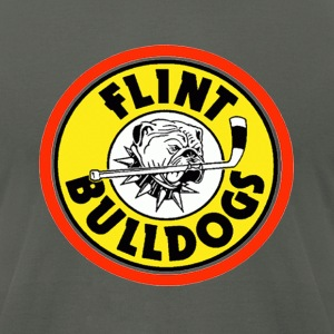 Flint Bulldogs T-Shirts - Men's T-Shirt by American Apparel