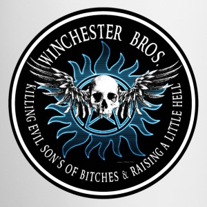 Winchester Bros Ring Patch  neon pase blue 03 Accessories - Coffee/Tea Mug