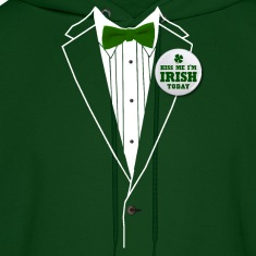 St. Patrick's Day Tux Hoodies