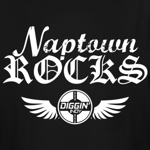 Naptown Rocks - Men's Tall T-Shirt
