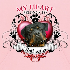 My Heart Belongs to a Rottweiler Sweatshirts - Kids' Hoodie