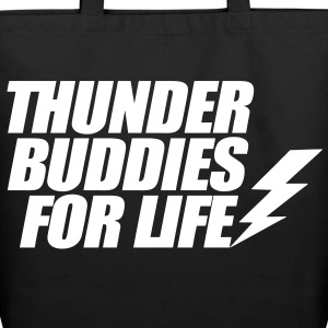 Thunder Buddies For Life Bags  - Eco-Friendly Cotton Tote