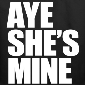 Aye She's Mine Bags  - Eco-Friendly Cotton Tote