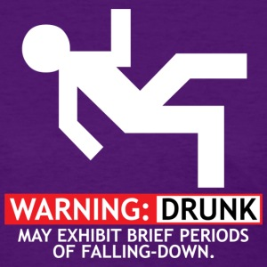 WARNING: DRUNK - Women's T-Shirt