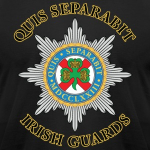 Irish Guards - Men's T-Shirt by American Apparel
