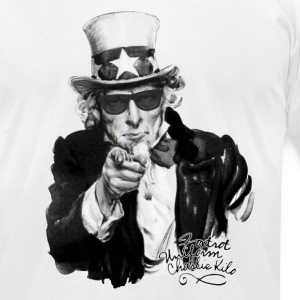 Uncle Sam - Foxtrot Uniform Charlie Kilo* T-Shirts - Men's T-Shirt by American Apparel