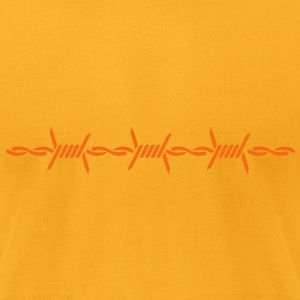 barbed wire (1c) T-Shirts - Men's T-Shirt by American Apparel