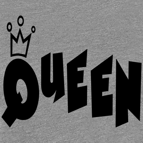 Queen Typography Crown