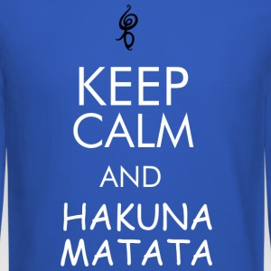 keep calm and hakuna matata - Crewneck Sweatshirt