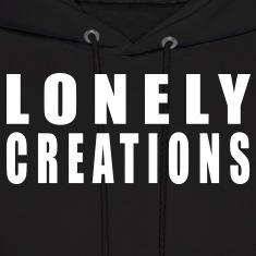 Lonely Creations Black And White Hoody