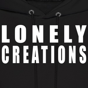 Lonely Creations Black And White Hoody - Men's Hoodie