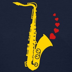 Sax and Love Women's T-Shirts