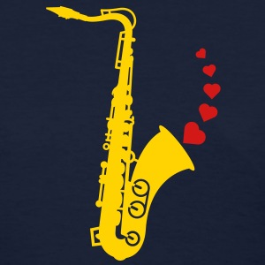 Sax and Love Women's T-Shirts - Women's T-Shirt