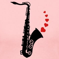 Sax and Love Long Sleeve Shirts