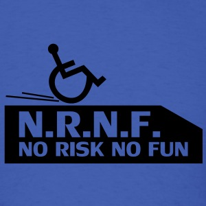 wheelchair,handicapped,cool,fast,break,disabled T-Shirts - Men's T-Shirt