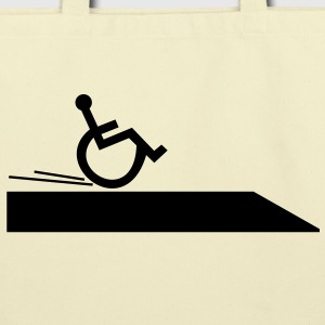 wheelchair,handicapped,cool,fast,break,disabled Bags  - Eco-Friendly Cotton Tote