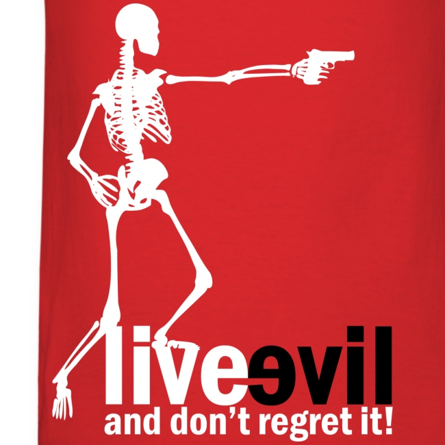 Live Evil Skeleton Mercenary (Red)