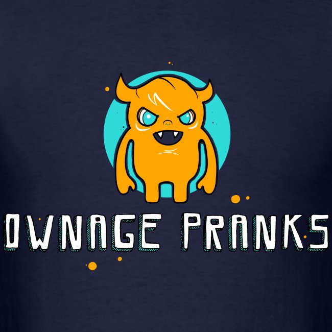 Ownage Pranks Orange Logo Shirt