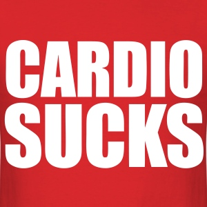 Cardio Sucks T-Shirts - Men's T-Shirt
