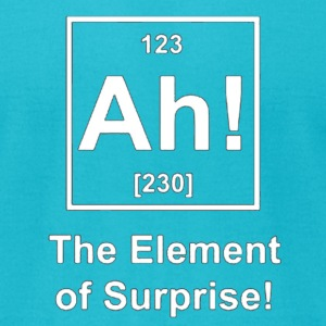 Ah! The Element of Surprise T-Shirts - Men's T-Shirt by American Apparel