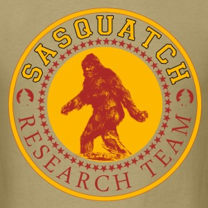 sasquatch research team - Men's T-Shirt