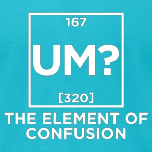 element of confusion T-Shirts - Men's T-Shirt by American Apparel