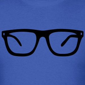 nerd geek glasses T-Shirts - Men's T-Shirt