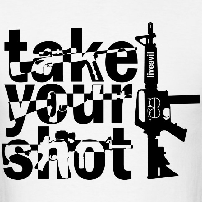 Take Your Shot (White)