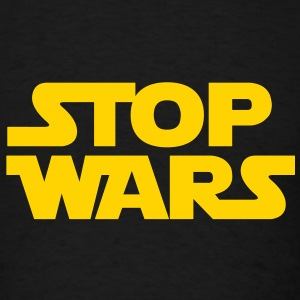 KCCO - STOP WARS T-Shirts - Men's T-Shirt