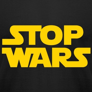 KCCO - STOP WARS T-Shirts - Men's T-Shirt by American Apparel