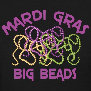 Mardi Gras Big Beads T-Shirt - Women's T-Shirt
