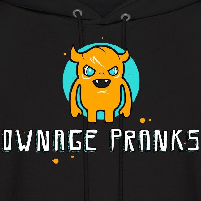 Ownage Pranks Orange Logo Hoodie
