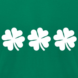 Shamrocks T-Shirts - Men's T-Shirt by American Apparel