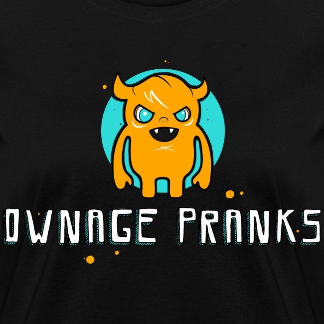 Ownage Pranks Orange Logo Shirt