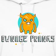 Design ~ Ownage Pranks Orange Logo Hoodie