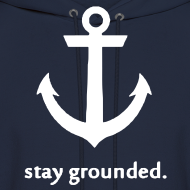 Design ~ Stay Grounded Hoodie