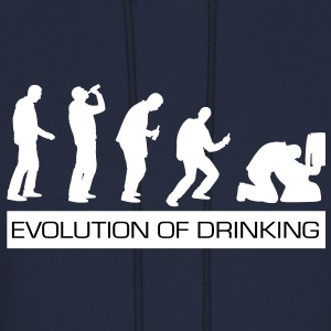 Evolution of Drinking - Men's Hoodie