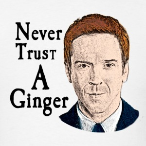 Homeland - Nick Brody Ginger Shirt - Men's T-Shirt