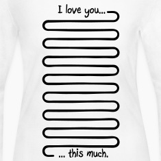 I love you this much Long Sleeve Shirts