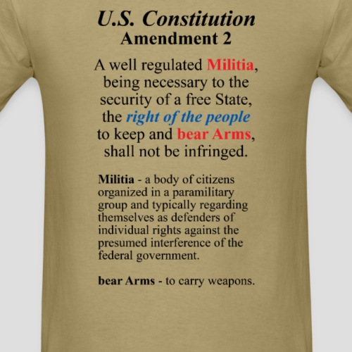 U.S. Constitution Amendment 2