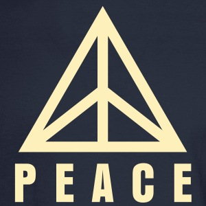 Triangle of Peace 2 Long Sleeve Shirts - Men's Long Sleeve T-Shirt