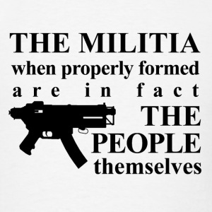 THE MILITIA T-Shirts - Men's T-Shirt