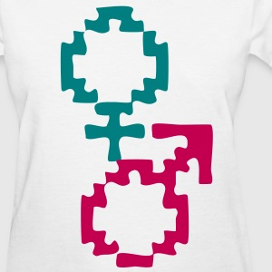 Male and Female Women's T-Shirts - Women's T-Shirt