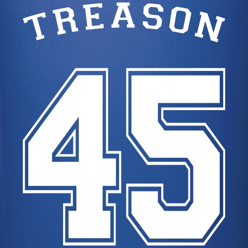 Treason 45 T-shirt design