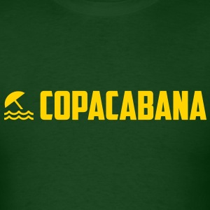 Copacabana Yellow T-Shirts - Men's T-Shirt