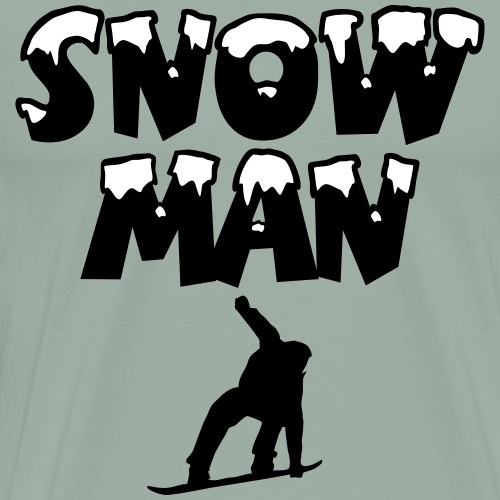 Snowman Snowboard Snowboarder Snowboarding