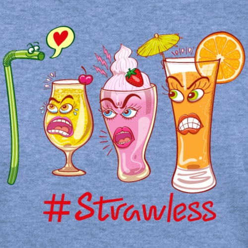 Plastic straw rejected when flirting with drinks