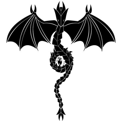 Serpant Dragon Black